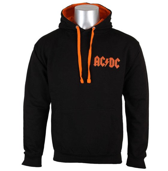 bluza AC/DC - LET THERE BE ROCK, kangurka z kapturem
