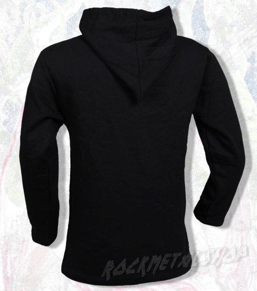 bluza BLACK ICON - HUNTER czarna z kapturem (BICON017)