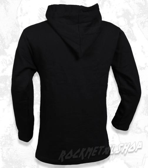 bluza BLACK ICON - NEST czarna z kapturem
