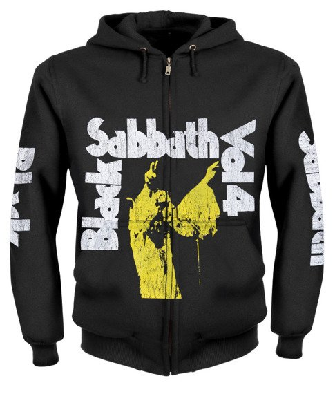 bluza BLACK SABBATH - VOL 4 rozpinana, z kapturem