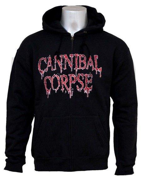 bluza CANNIBAL CORPSE - CAULDRON OF HATE, rozpinana z kapturem