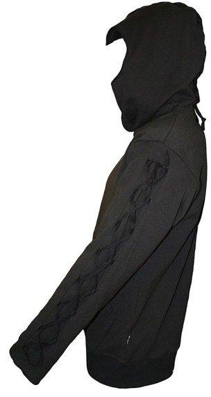 bluza DEVILS MARK czarna, z kapturem