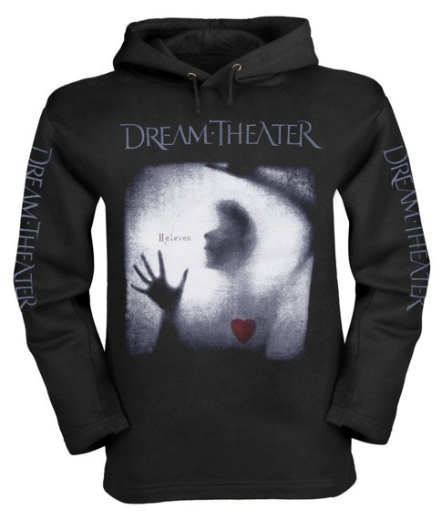 bluza DREAM THEATER - ELEVEN czarna z kapturem