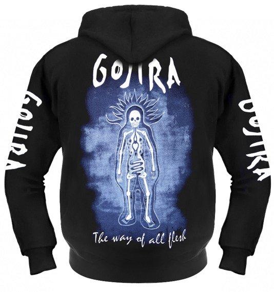 bluza GOJIRA - THE WAY OF ALL FLESH rozpinana, z kapturem