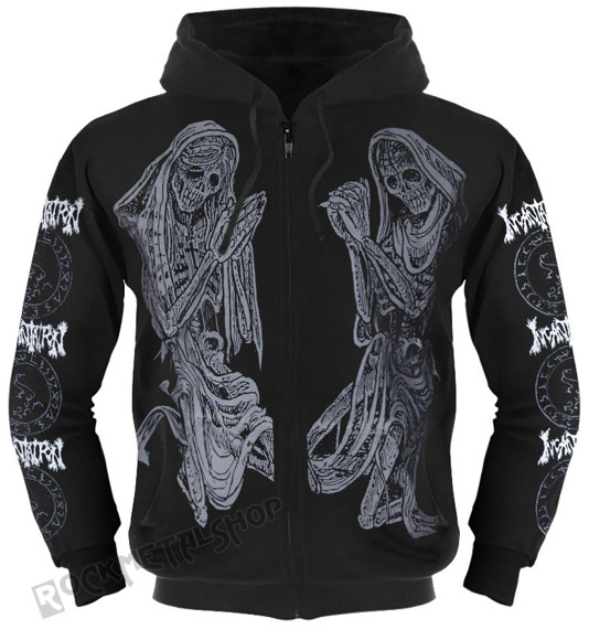 bluza INCANTATION - DELIVERANCE rozpinana, z kapturem