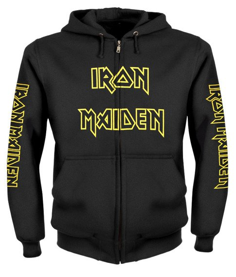 bluza IRON MAIDEN - SEVENTH SON OF A SEVENTH SON rozpinana, z kapturem