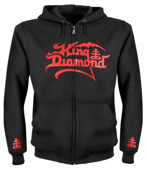 bluza KING DIAMOND rozpinana, z kapturem
