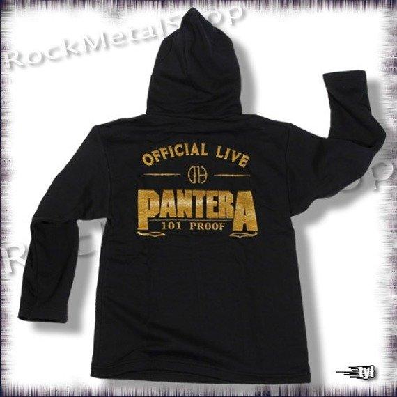 bluza PANTERA, czarna z kapturem
