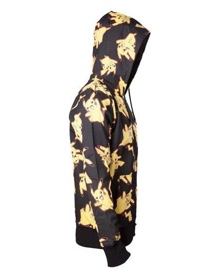 bluza POKEMON - PIKACHU, rozpinana z kapturem