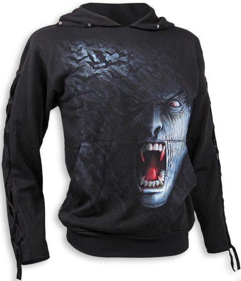 bluza SHADOW VAMPIRE czarna, z kapturem