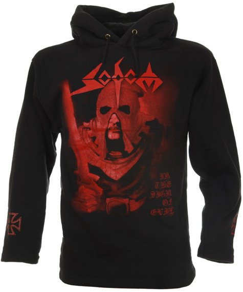 bluza SODOM - IN THE SIGN OF EVIL czarna, z kapturem