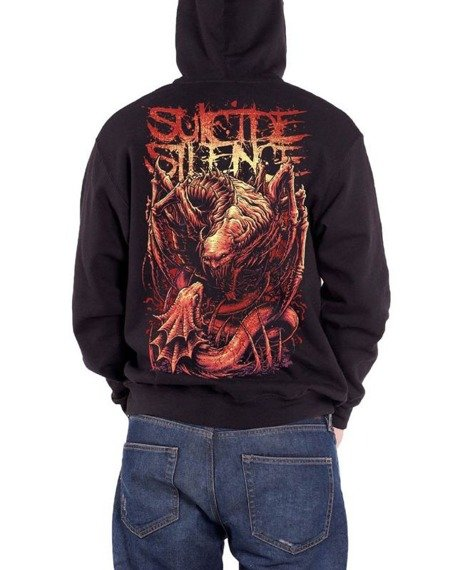 bluza SUICIDE SILENCE - US VS THEM, rozpinana z kapturem