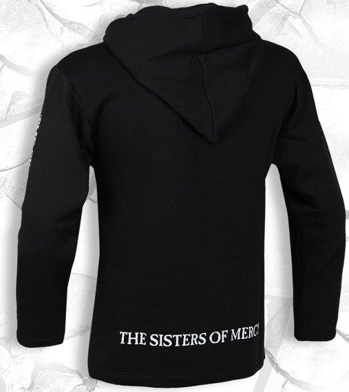 bluza THE SISTERS OF MERCY czarna, z kapturem