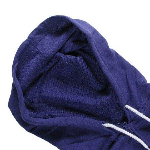 bluza damska na suwak ETNIES - UNWRITTEN (FULL ZIP) (DEEP PURPLE)