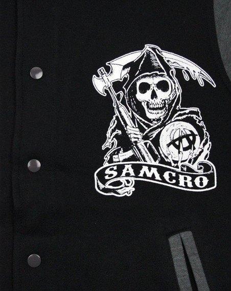 bluza/kurtka SONS OF ANARCHY - SAMCRO rozpinana