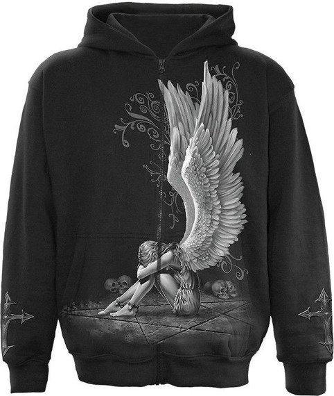 bluza rozpinana z kapturem ENSLAVED ANGEL