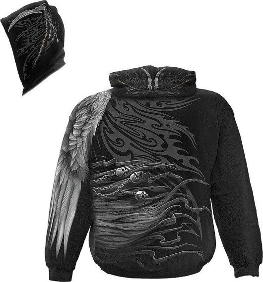 bluza z kapturem DEATH ANGEL WRAP