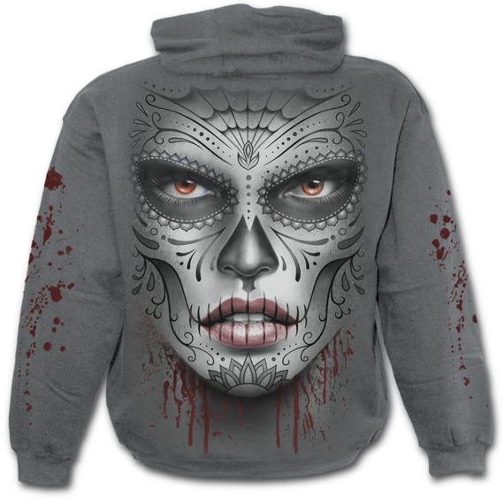 bluza z kapturem DEATH MASK