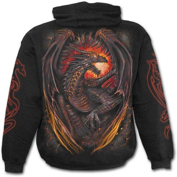 bluza z kapturem DRAGON FURNACE