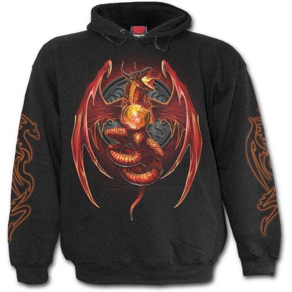 bluza z kapturem DRAGON'S WRATH