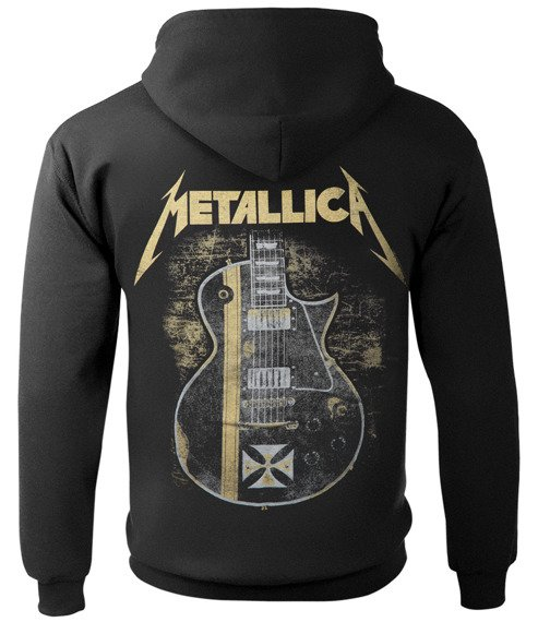 bluza z kapturem METALLICA - HETFIELD IRON CROSS