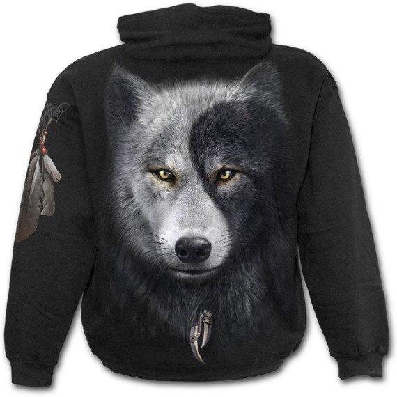 bluza z kapturem WOLF CHI