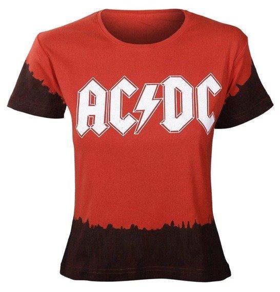 bluzka damska AC/DC barwiona