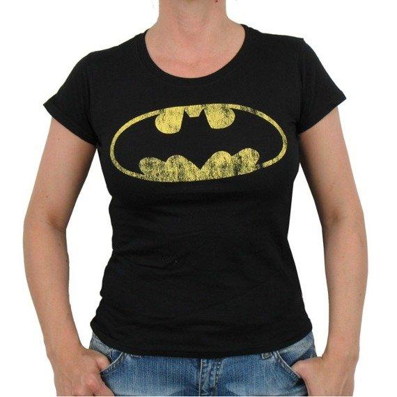 bluzka damska BATMAN - DISTRESSED SHIELD
