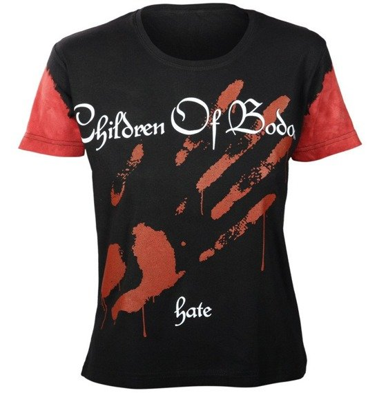 bluzka damska CHILDREN OF BODOM - HATE
