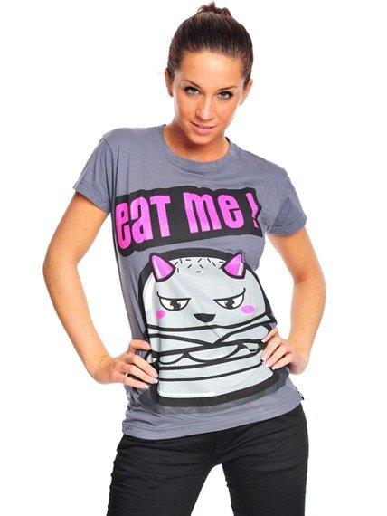 bluzka damska CUPCAKE CULT - EAT ME! szara