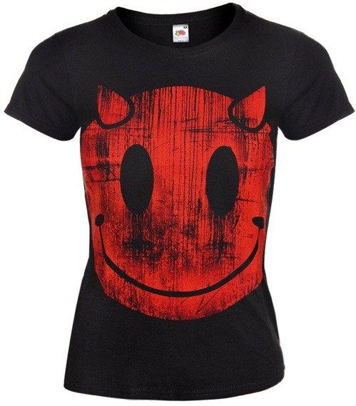 bluzka damska DEVIL SMILEY