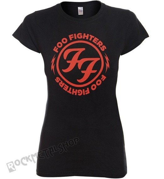 bluzka damska FOO FIGHTERS - LOGO IN RED