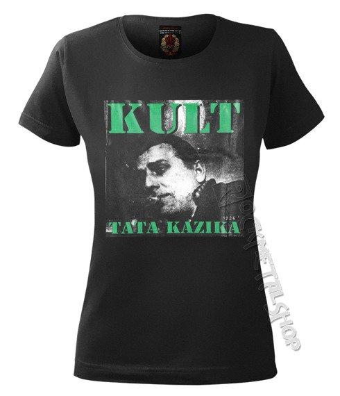 bluzka damska KULT - TATA KAZIKA czarna