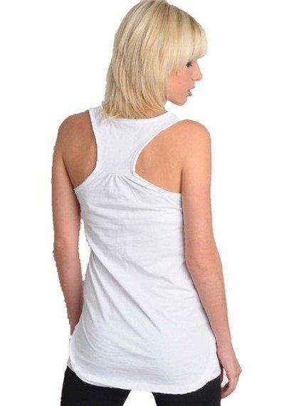 bluzka damska LADY GAGA - PORTRAIT biała