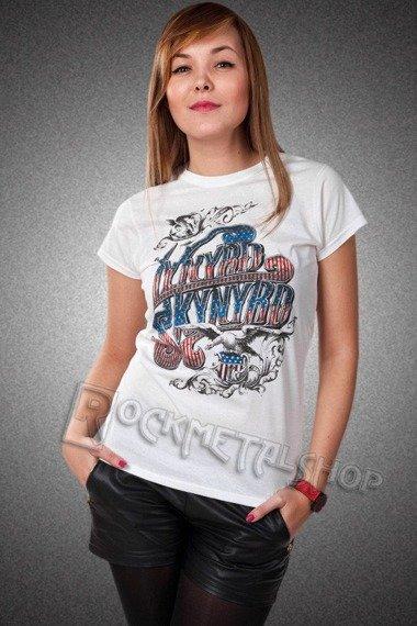 bluzka damska LYNYRD SKYNYRD - USA FLAG