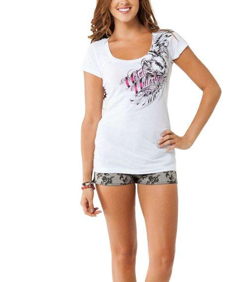 bluzka damska METAL MULISHA - ADDICTIVE biała
