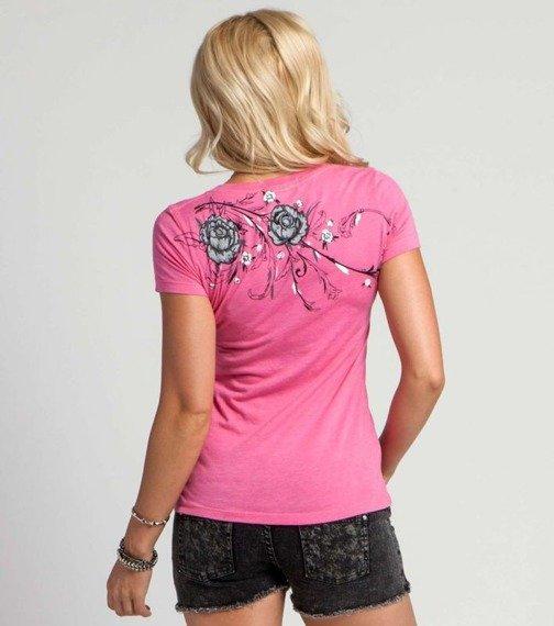 bluzka damska METAL MULISHA - DITZY różowa