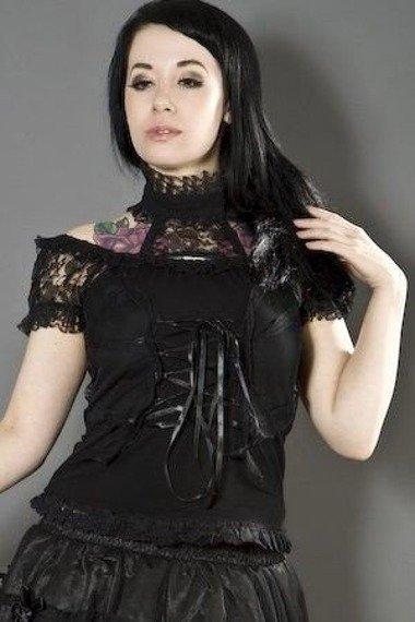 bluzka damska MORGANA TOP BLACK