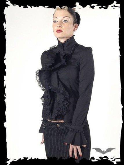 bluzka damska QUEEN OF DARKNESS (BLACK)