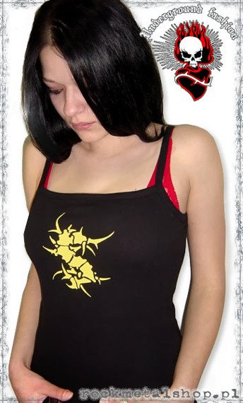 bluzka damska SEPULTURA - LOGO na ramiączka