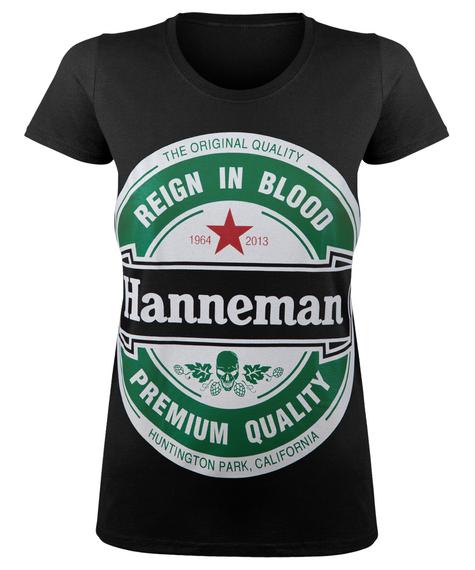 bluzka damska SLAYER - HANNEMAN