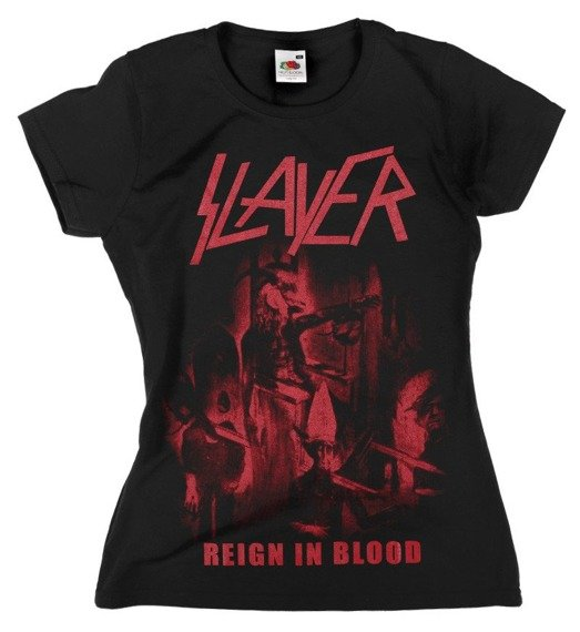 bluzka damska SLAYER - REIGN IN BLOOD