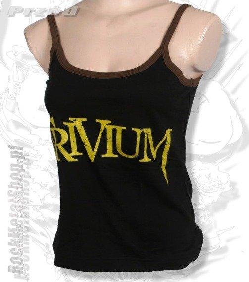 bluzka damska TRIVIUM - LOGO na ramiączka