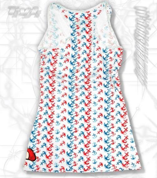 bluzka damska na ramiączka IRON FIST - WELCOME ABOARD   (WHITE)