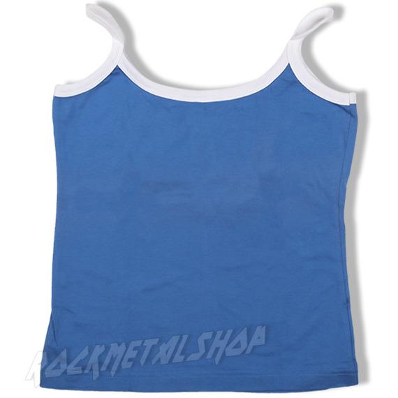 bluzka na ramiączka JAMAICA niebieska