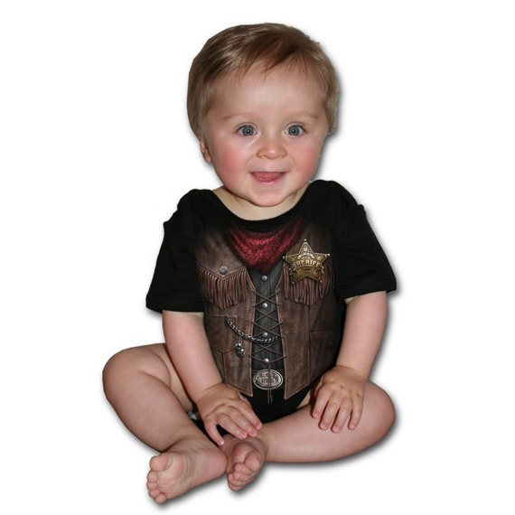 body dziecięce SPIRAL - BABY SHERIFF