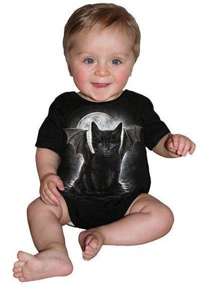 body dziecięce SPIRAL - BAT CAT