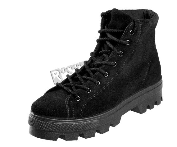botki damskie ALTERCORE czarne (RITA BLACK)