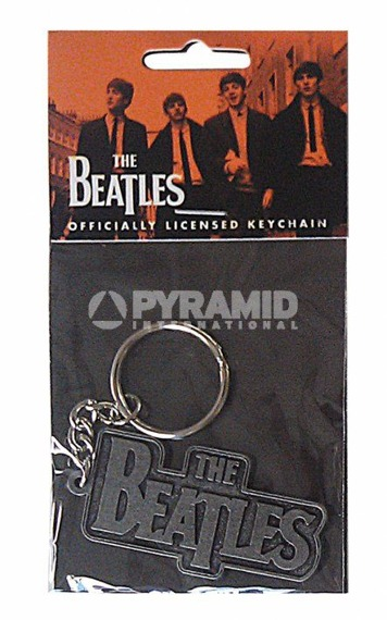 brelok do kluczy THE BEATLES - LOGO (METAL)
