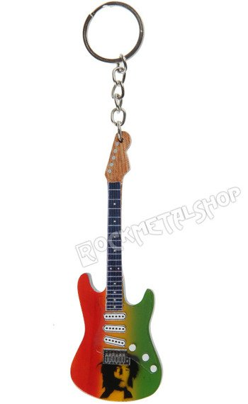 "brelok / miniaturka gitary BOB MARLEY - THE WAILERS ""Jamaica"""